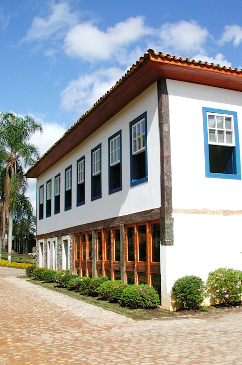 Hérmanes Abreu Arquitetura Ltda Rumah pedesaan
