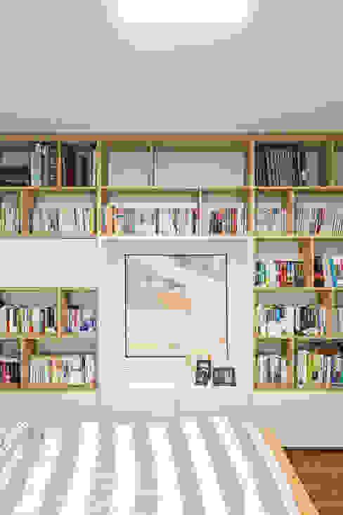 청양 농가주택 프로젝트 모던스타일 서재 / 사무실 by 적정건축 모던