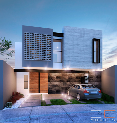 Residencia SZ [León, Gto.] Casas modernas de 3C Arquitectos S.A. de C.V. Moderno