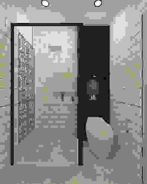 Bathroom Noff Design Kamar Mandi Modern Keramik White
