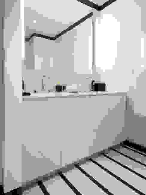 The Windermere   Bathroom GD Arredamenti Bagno moderno Vetro Bianco