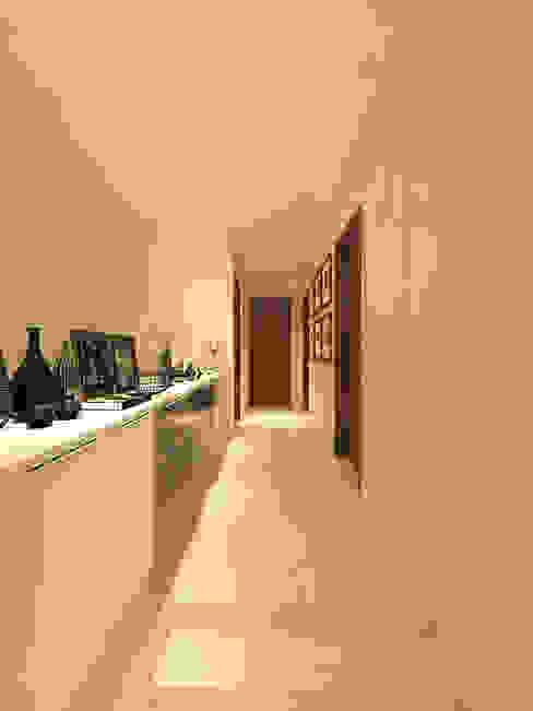 PRIVATE RESIDENTIAL @ NAVAPARK, BSD CITY, TANGERANG Koridor & Tangga Modern Oleh PT. Dekorasi Hunian Indonesia (DHI) Modern