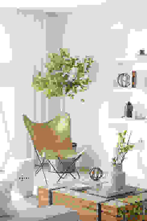 Skandynawski salon od Catarina Batista Studio Skandynawski