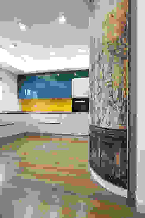 Ristrutturazione appartamento 120 mq: Sala da pranzo in stile  di Fabiola Ferrarello architetto,
