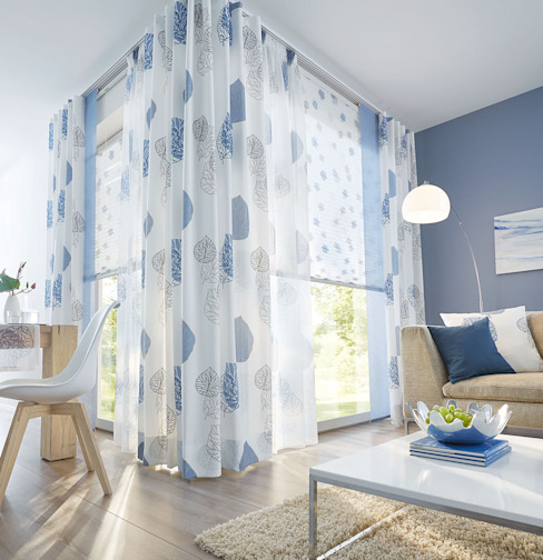UNLAND International GmbH Windows & doors Window decoration Textile Blue