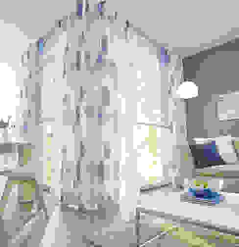 UNLAND International GmbH Ramen & deurenRaamdecoratie Textiel Blauw