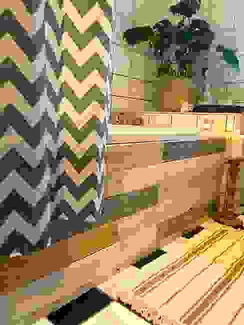 Budget Family Bathroom Makeover Design Little Mill House Baños de estilo rústico