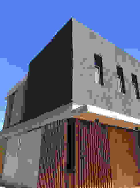 FAARQ - Facundo Arana Arquitecto & asoc. 일세대용 주택 우드 그레인