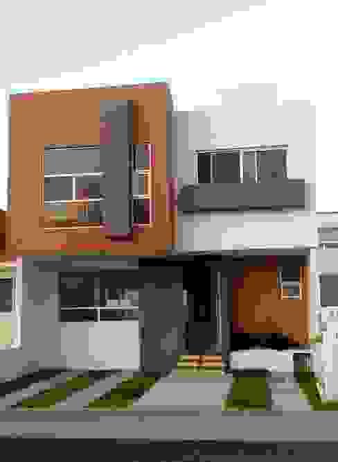 CASA SEGUNDA CERRADA: Casas de estilo  por DECArquitectos