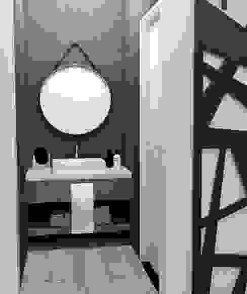 ANTEBAÑO: Baños de estilo  por JACH