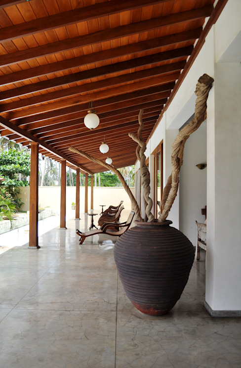 Weligama Bay Resort in Sri Lanka Interiordesign & Styling Koloniale Hotels Beton Braun