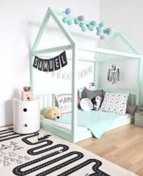 Cama Montessori plaza y media + delivery de Montessori Room Moderno