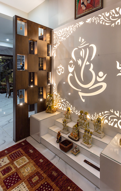 Sky Box House Modern living room by Garg Architects Modern MDF