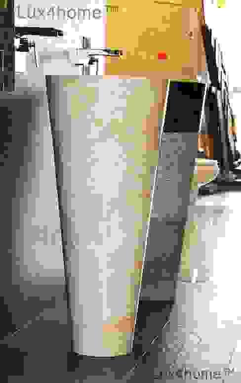 Umywalka Stojąca Kamienna: styl , w kategorii  zaprojektowany przez Lux4home™,
