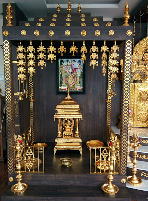 Small Pooja Room Design: How To Design Pooja Rooms In Small Spaces?