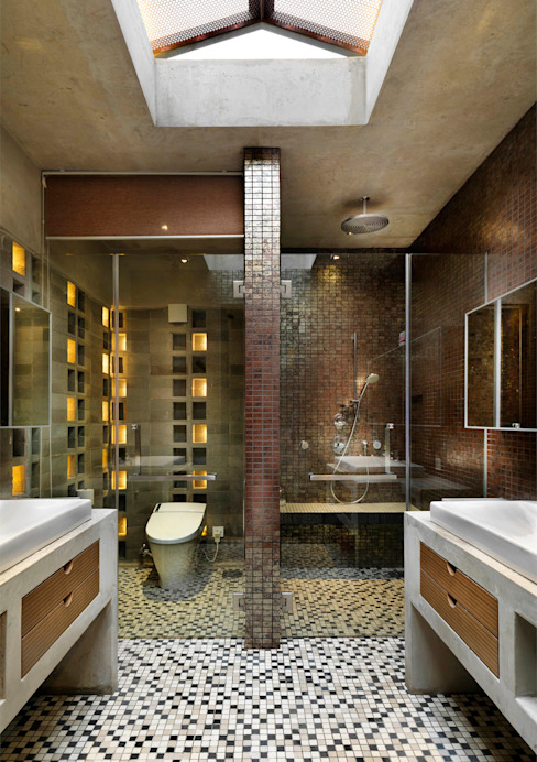 Master Bathroom MJ Kanny Architect Modern style bathrooms