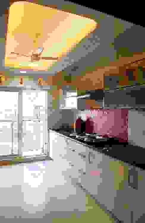 Shalin Jain Modern kitchen by SP INTERIORS Modern