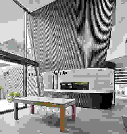 Столовые комнаты в . Автор – Cluster Architekten / Inkognito