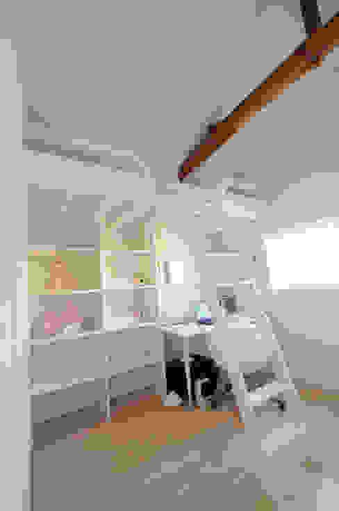 ママとベビーの家 TBJインテリアデザイン建築事務所 北欧スタイルの 寝室