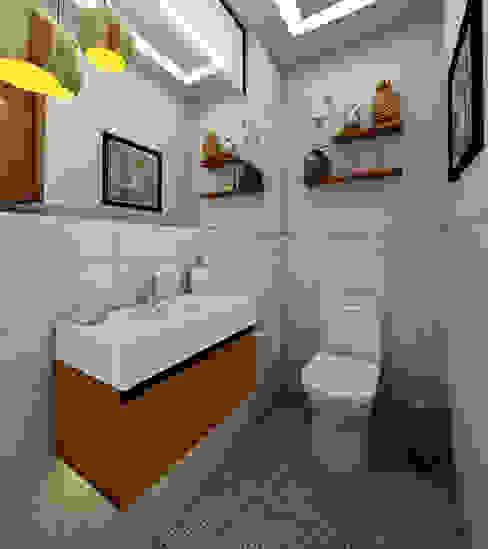 PROYECTO CR Baños modernos de Luis Escobar Interiorismo Moderno