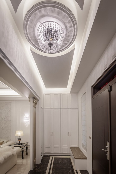 玄關 澤序空間設計有限公司 經典風格的走廊,走廊和樓梯