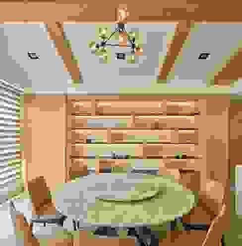 餐廳 根據 澤序空間設計有限公司 簡約風