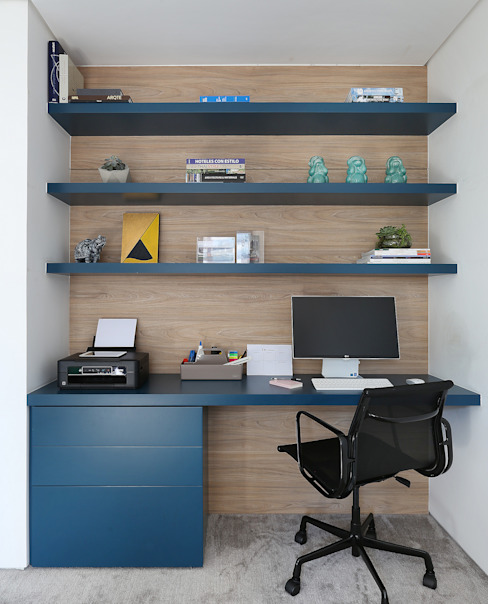 Modern study/office by Start Arquitetura Modern