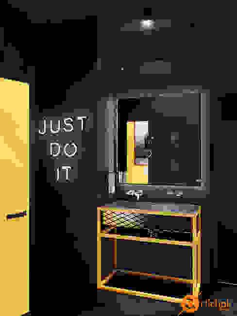 Artichok Design Espaços comerciais industriais Amarelo