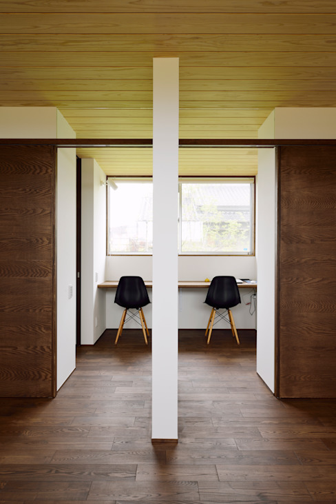 Study/office by kisetsu, Scandinavian