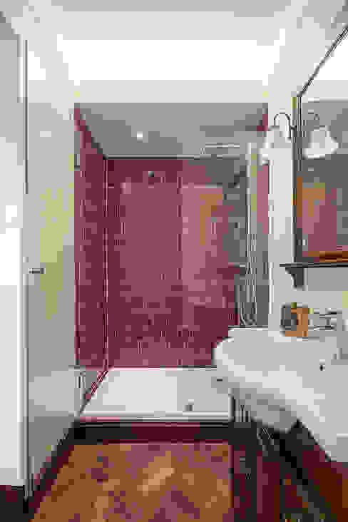 Casa de banho da Suite Casas de banho campestres por Estúdio AMATAM Campestre