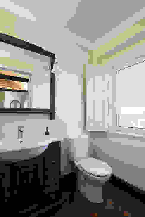 Casa de banho da Suite Estúdio AMATAM Casas de banho campestres