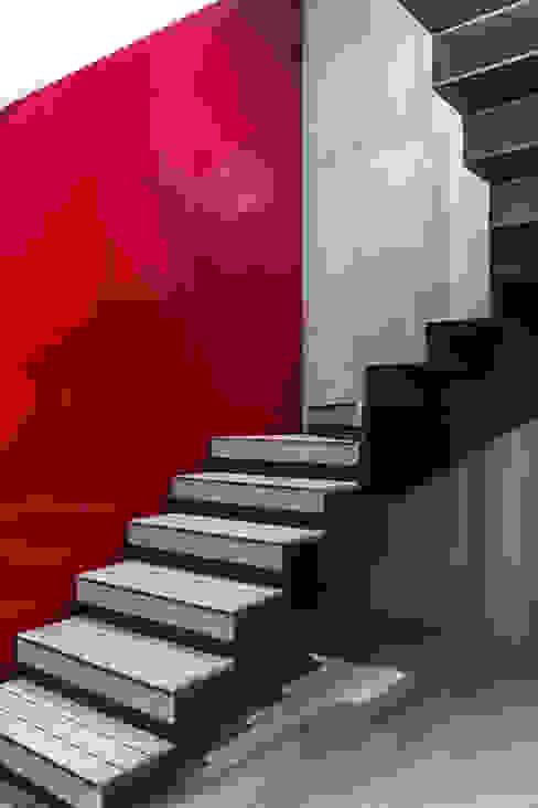 APTO BLUE Design Group Latinamerica Vestíbulos, pasillos y escalerasEscaleras