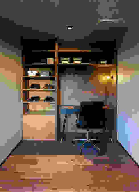 書斎 SQOOL一級建築士事務所 オリジナルデザインの 書斎
