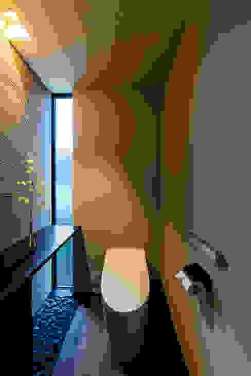 和のトイレ SQOOL一級建築士事務所 オリジナルスタイルの お風呂