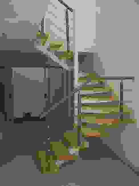 Escalera combinada en U modelo MILAN HELIKA Scale Escaleras Madera Multicolor