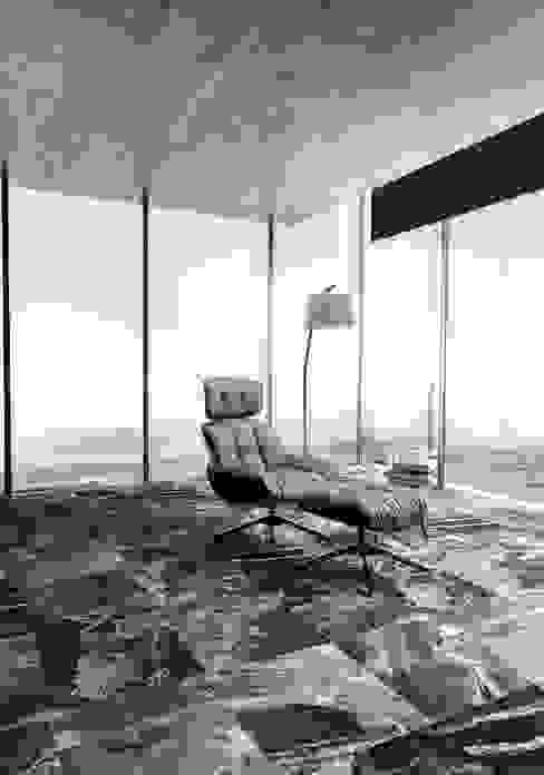 Silver Fantasy - Gri Mermer - Hurok Marble Modern Çalışma Odası Hurok Marble Modern