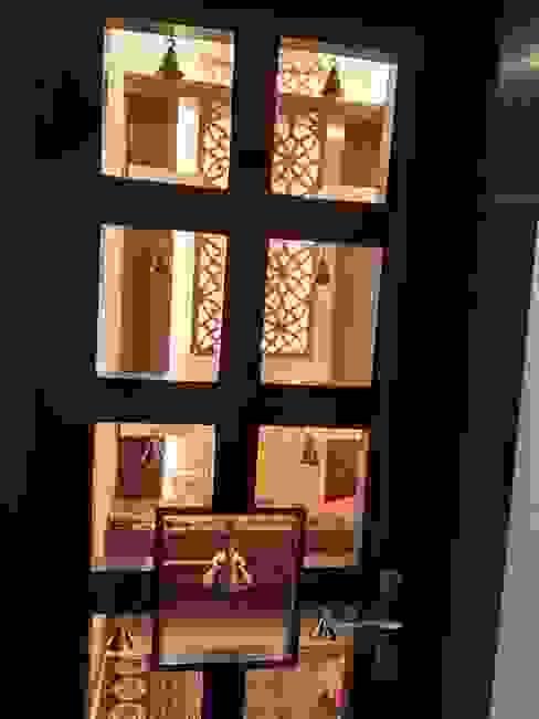 Pooja Room by V-Serve Design & PMC Classic