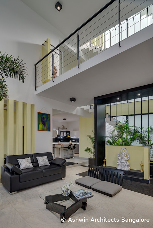 Living Room Design Modern living room by Ashwin Architects In Bangalore Modern