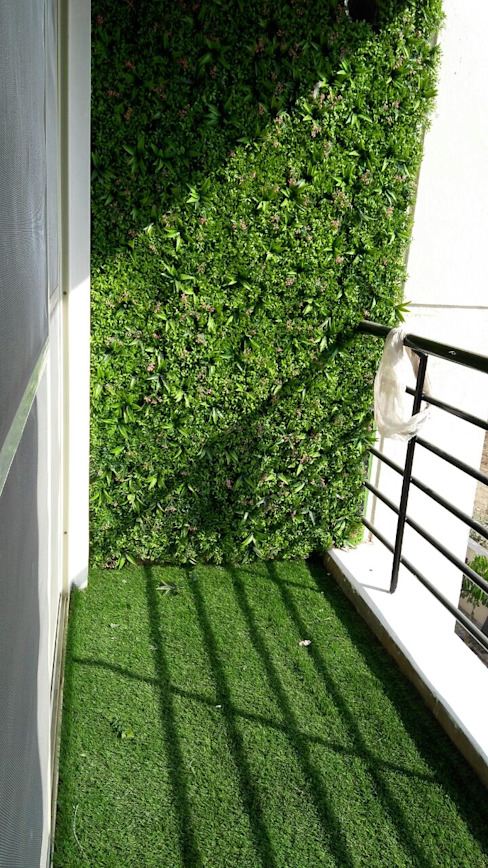 Mr. Udaybhan Singh Thakur Retirement Home Minimalist style garden by al-Haadi Interiors Minimalist