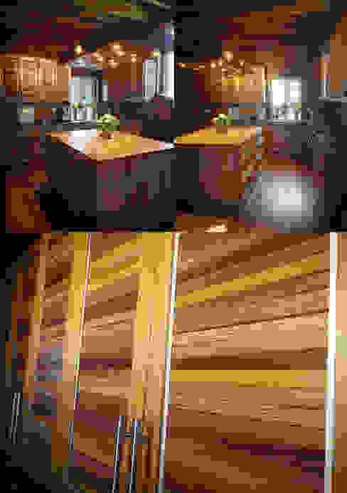 Unique Luxury Tropic Edel Styl Finnscania Blockhausfabrik Einbauküche Holz Mehrfarbig