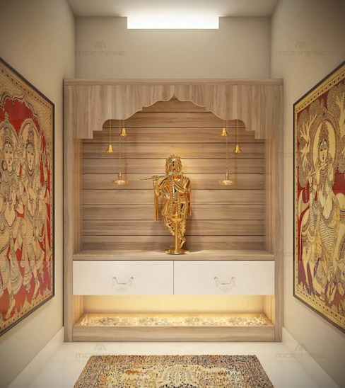 Pooja Room: classic  by classicspaceinterior,Classic