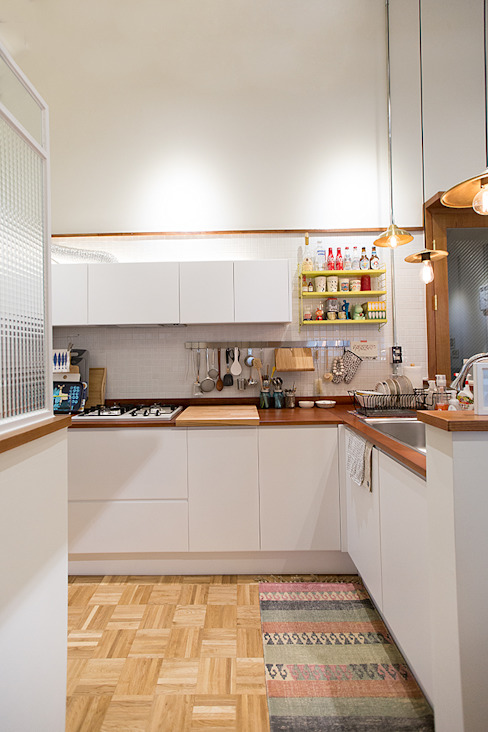미우가 디자인 스튜디오 Кухня