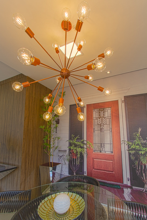 Sgabello Interiores Dining roomLighting Metal Amber/Gold