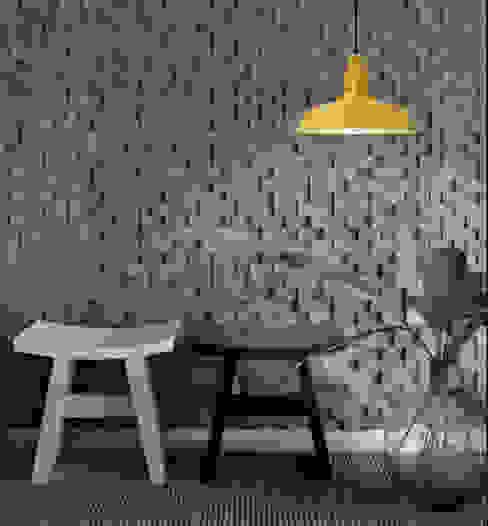 Lámpara Dusseldorf en tu decoración Co&Ca Lighting Vestíbulos, pasillos y escalerasIluminación Hierro/Acero Amarillo