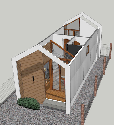 Studio Type Bungalow Residential Unit ezpaze design+build Bungalows