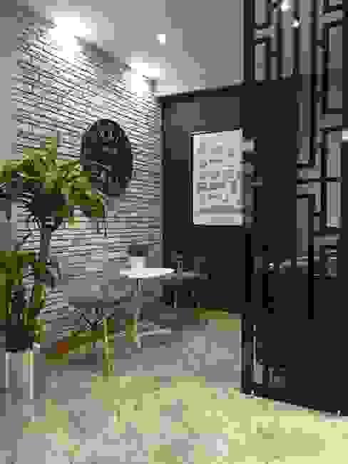 Espaces de bureaux modernes par homify Moderne