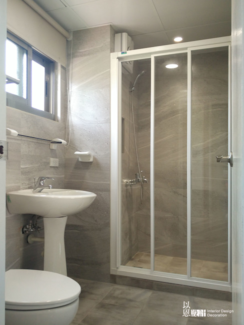 Baños de estilo  por 以恩設計