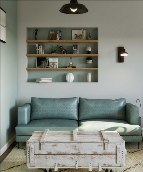 Living room by Isabel Gomez Interiors, Industrial