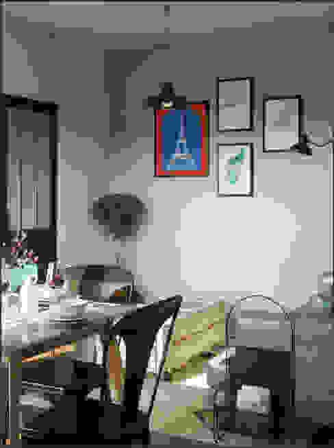 Projekty,  Salon zaprojektowane przez Isabel Gomez Interiors,