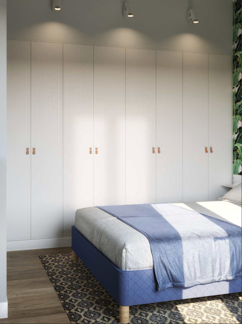 Projekty,  Sypialnia zaprojektowane przez Isabel Gomez Interiors,